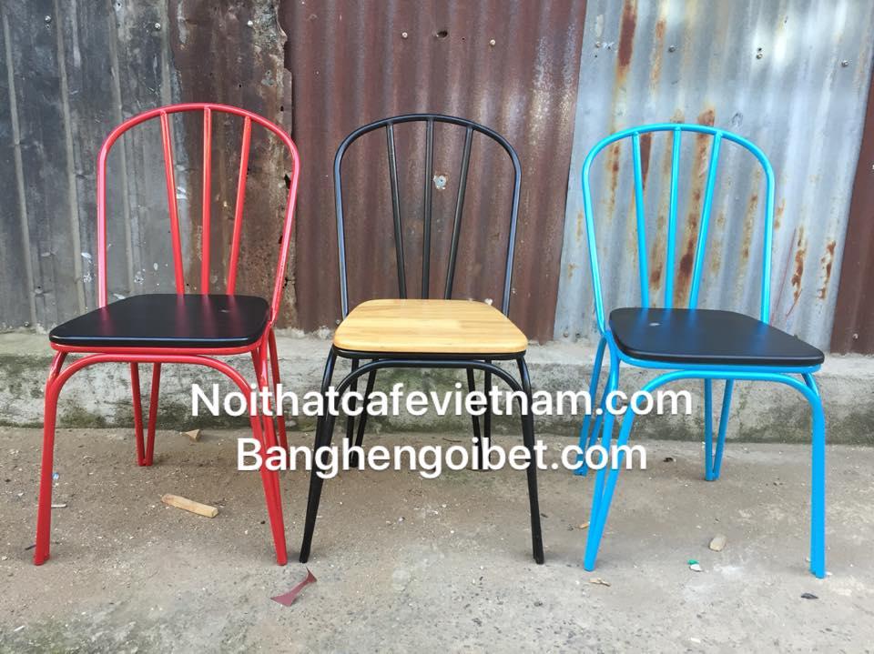 Ghế sắt cafe giá rẻ