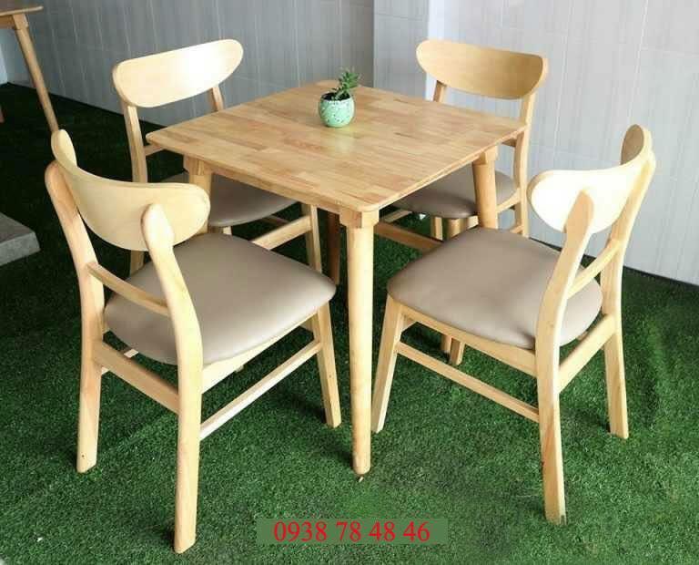 Bộ bàn ghế cafe Mango rẻ
