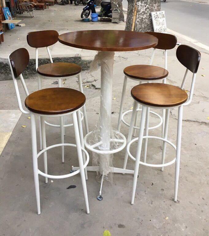 Bộ bàn ghế bar sắt