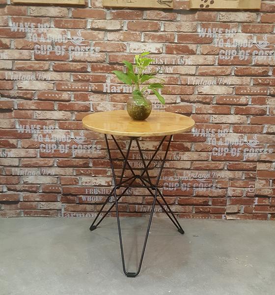 Bàn cafe chân đan SK