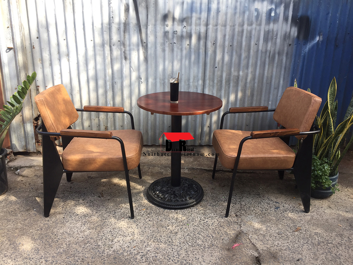 Bộ bàn ghế sofa sắt NAPA