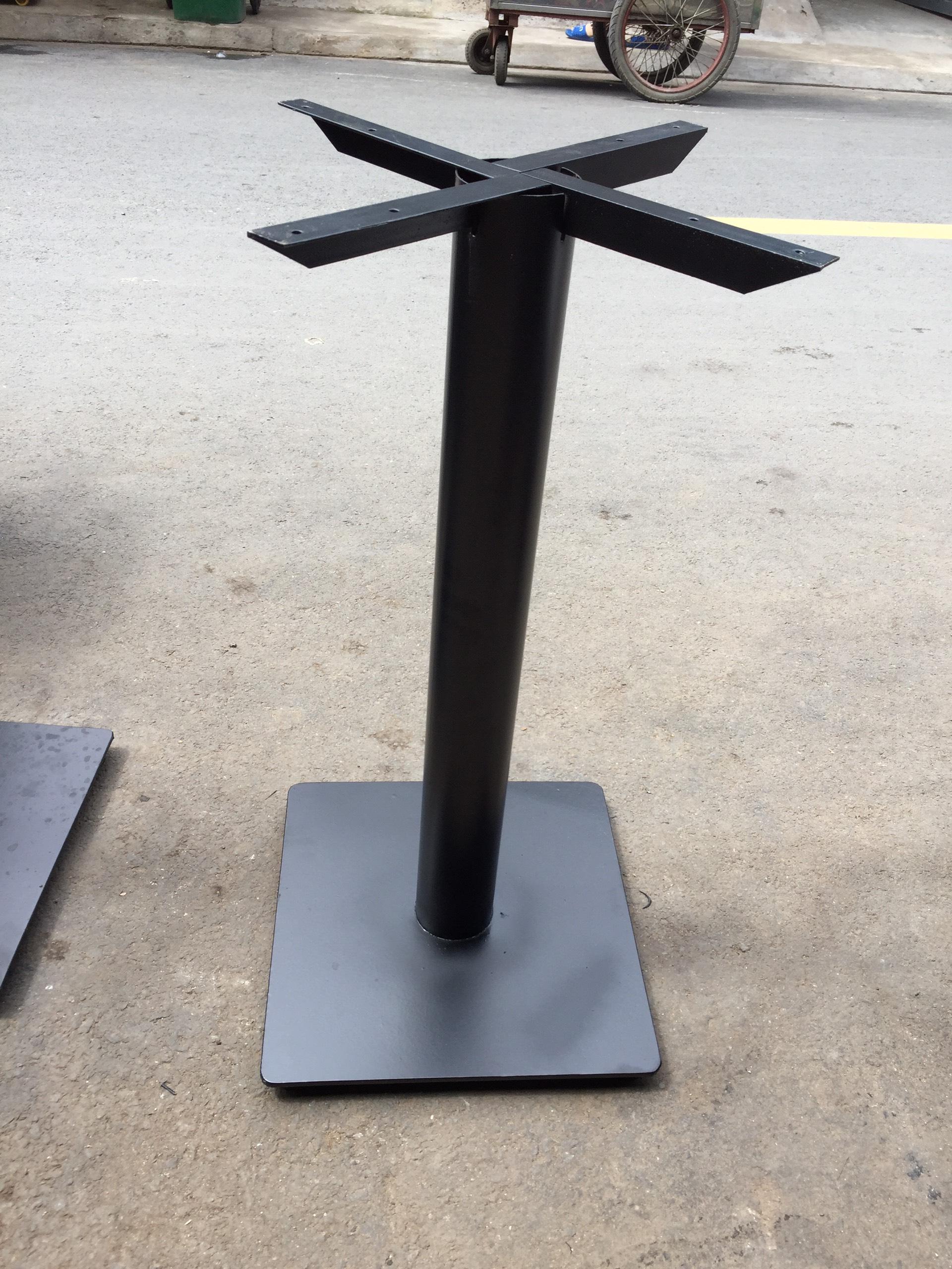 Chân bàn sắt mâm vuông