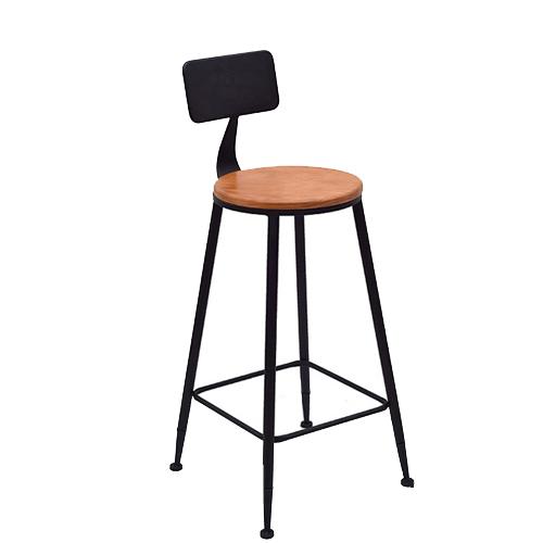 Ghế bar sắt cafe hiện đại