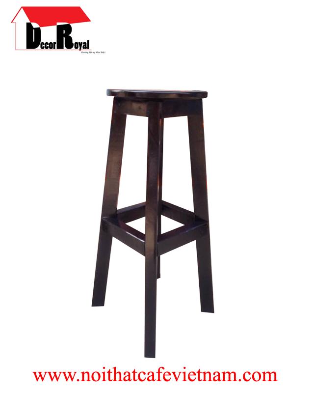 Ghế bar đen