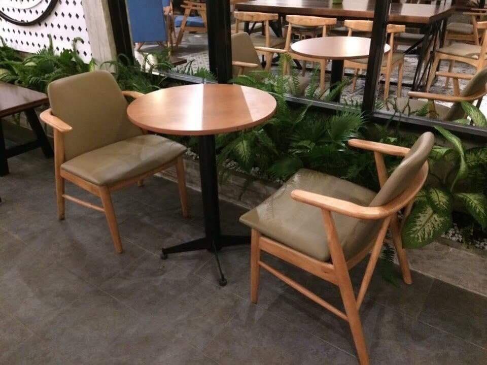 Ghế gỗ cafe trà sữa đẹp, ghế kami