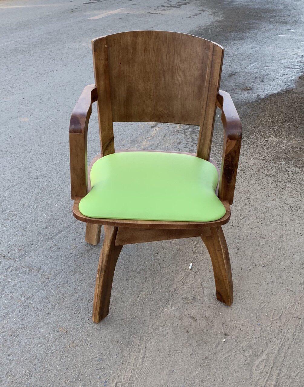 Ghế gỗ xoay viva star