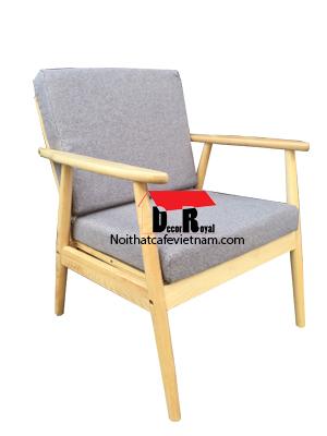 Ghế sofa cafe gỗ ash
