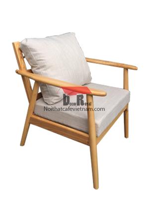 Ghế sofa đơn gỗ ash