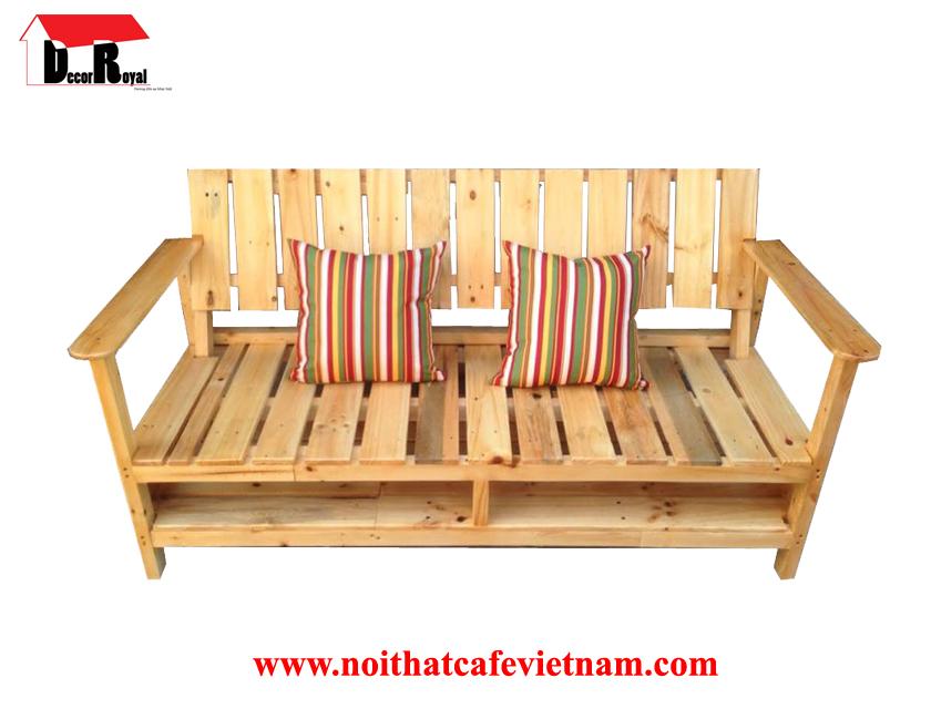 Ghế sofa pallet