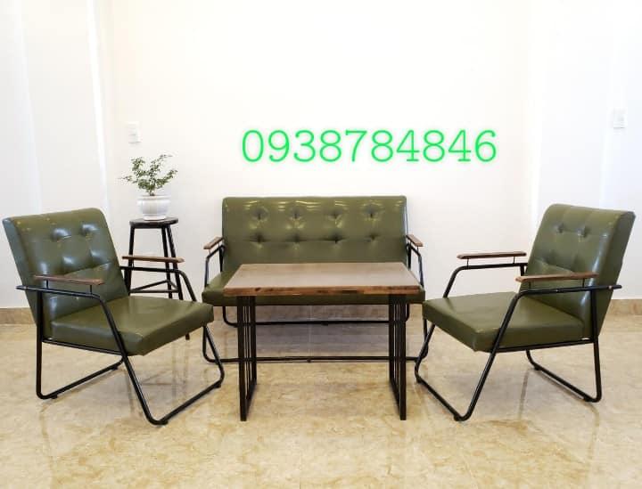 Bộ sofa cafe sắt giá rẻ