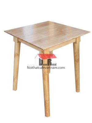 Bàn cafe gỗ vuông